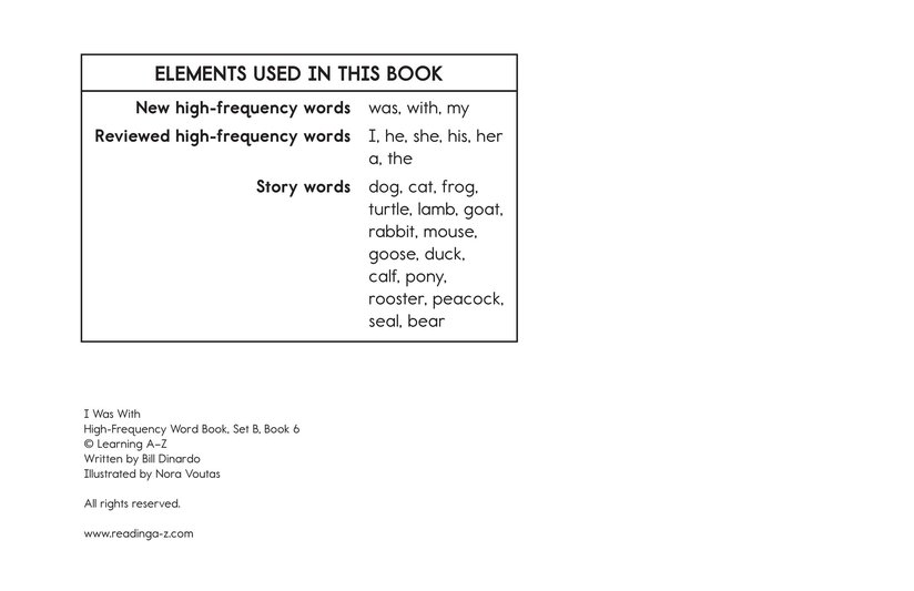 Book Preview For I Was With Page 11