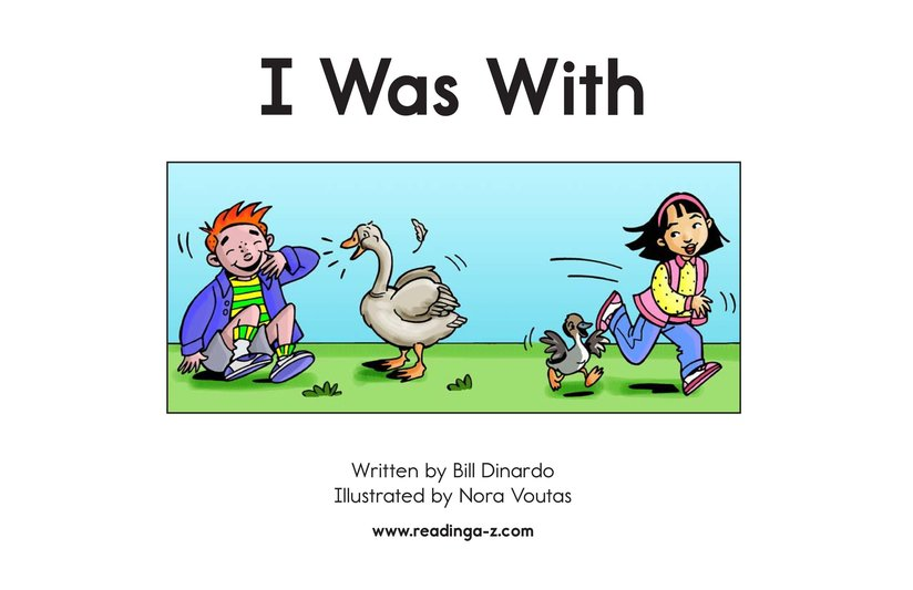 Book Preview For I Was With Page 2
