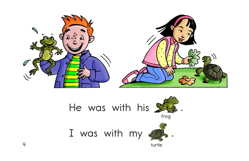 Book Preview For I Was With Page 4
