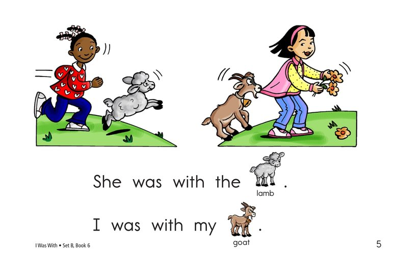 Book Preview For I Was With Page 5