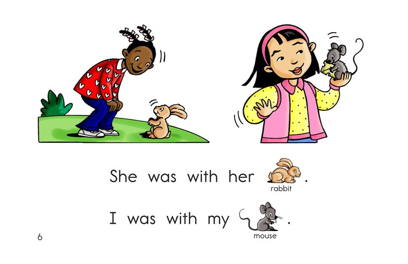 Book Preview For I Was With Page 6