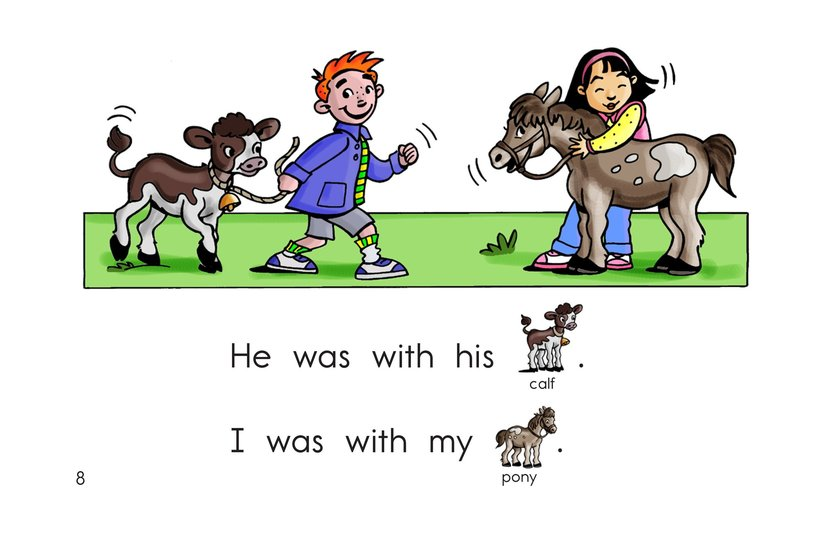 Book Preview For I Was With Page 8