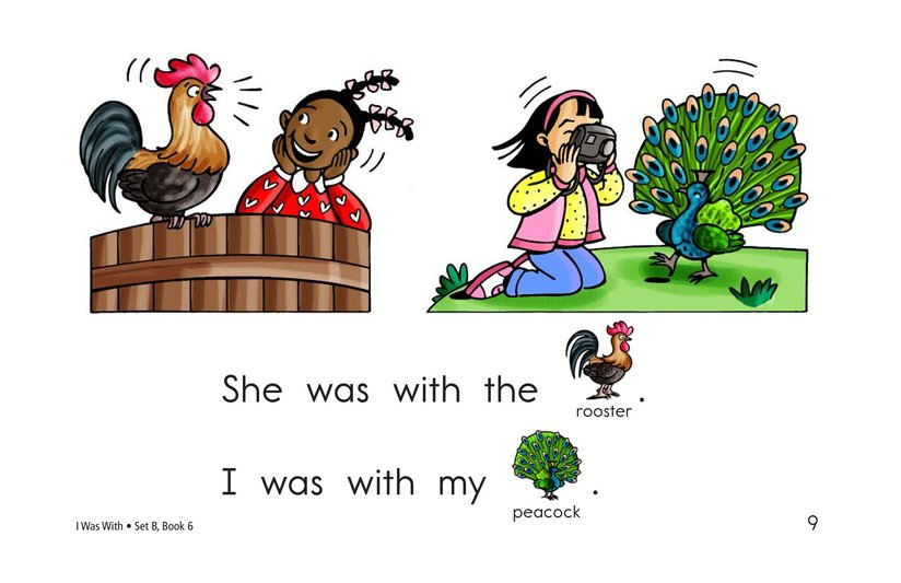 Book Preview For I Was With Page 9