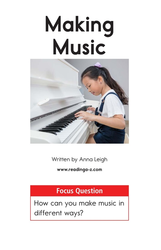 Book Preview For Making Music Page 1