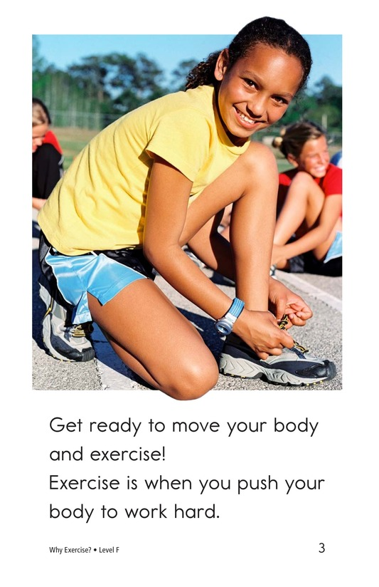 Book Preview For Why Exercise? Page 3