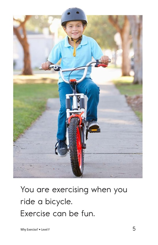 Book Preview For Why Exercise? Page 5