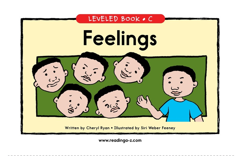 Book Preview For Feelings Page 1