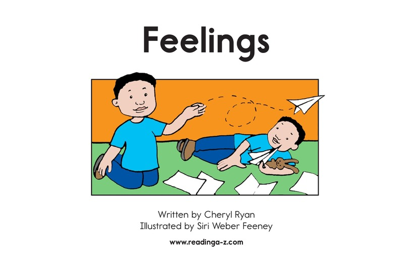 Book Preview For Feelings Page 2
