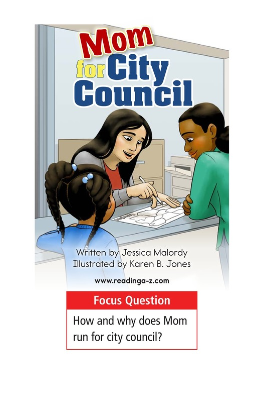 Book Preview For Mom for City Council Page 1