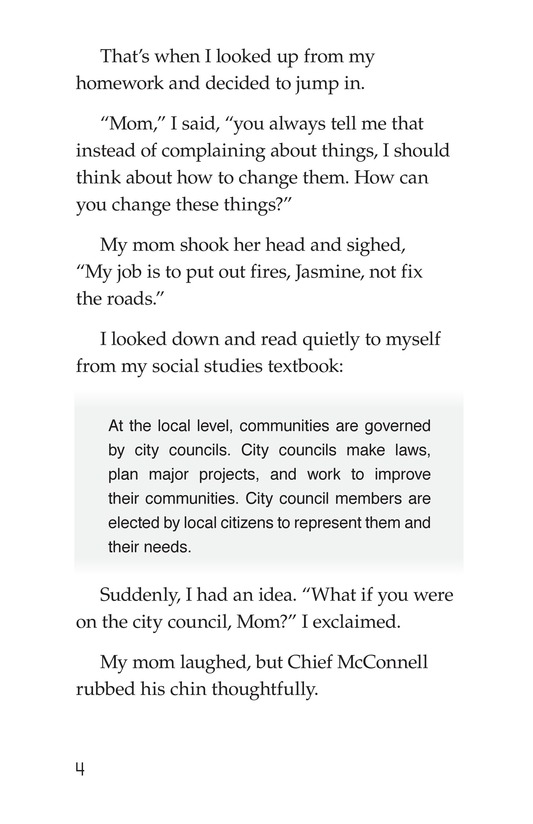 Book Preview For Mom for City Council Page 4