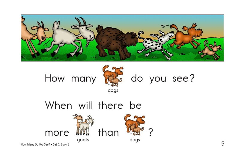 Book Preview For How Many Do You See? Page 5