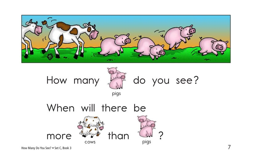 Book Preview For How Many Do You See? Page 7