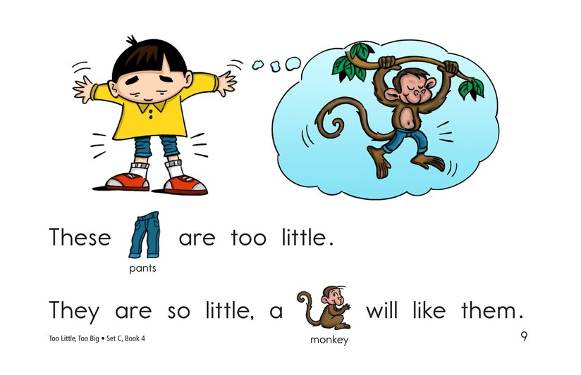 Book Preview For Too Little, Too Big Page 9