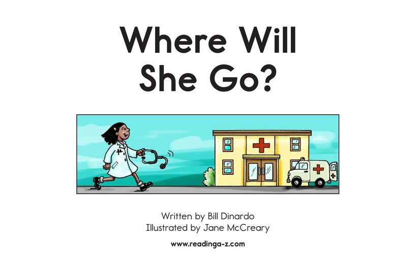 Book Preview For Where Will She Go? Page 2