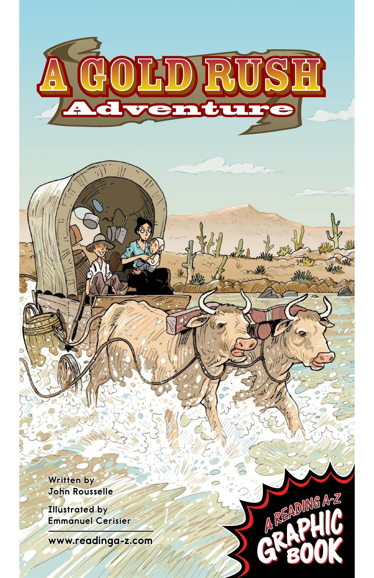 Book Preview For A Gold Rush Adventure Page 1