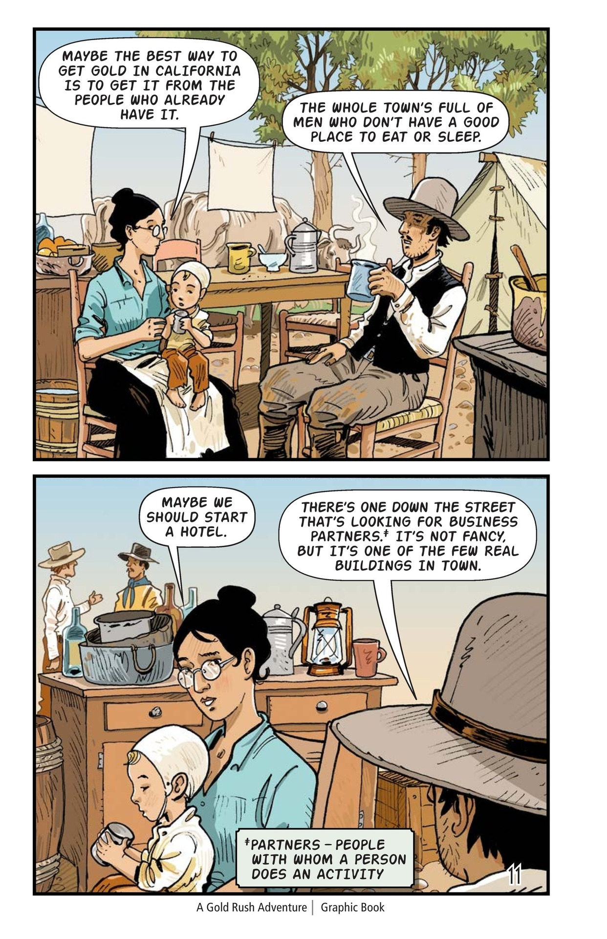 Book Preview For A Gold Rush Adventure Page 12
