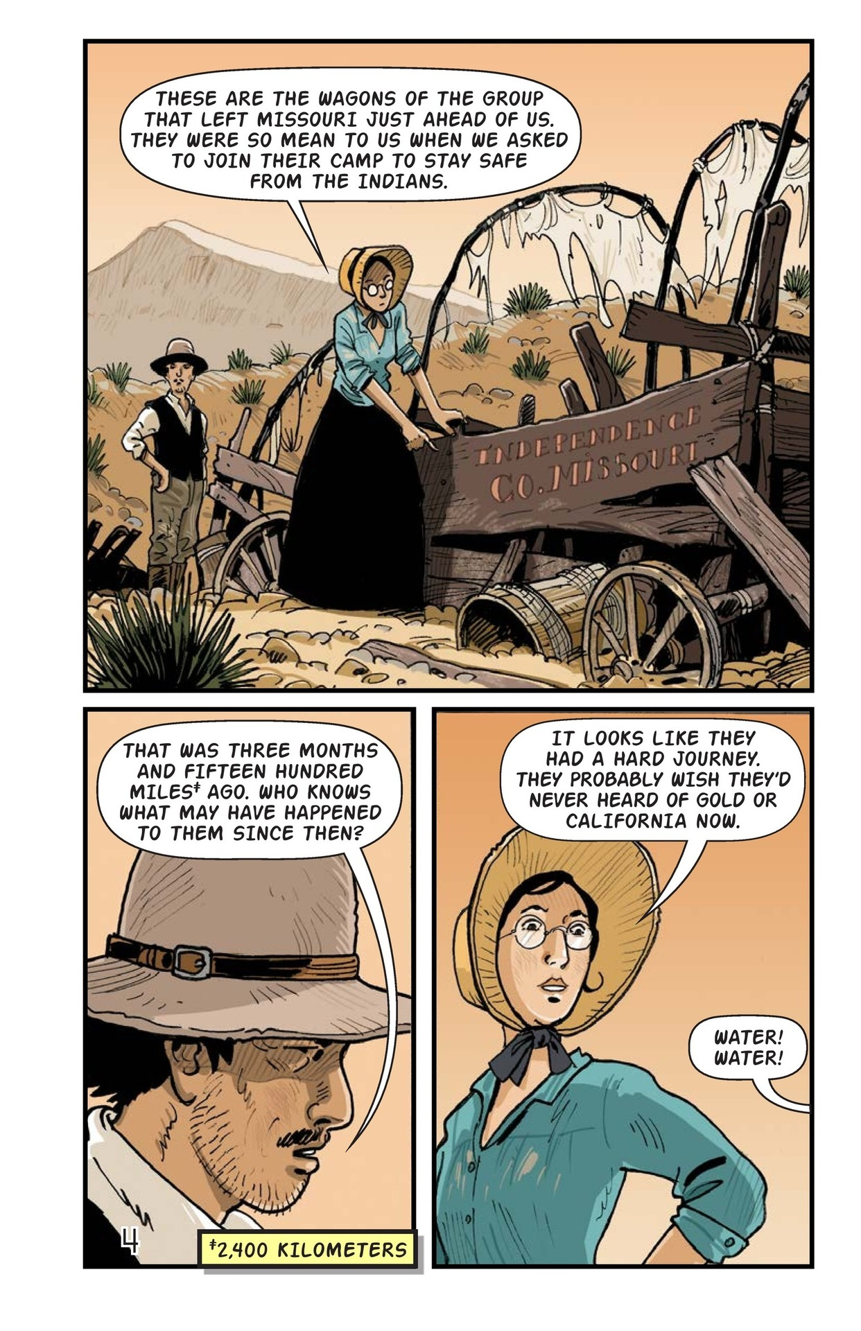 Book Preview For A Gold Rush Adventure Page 5