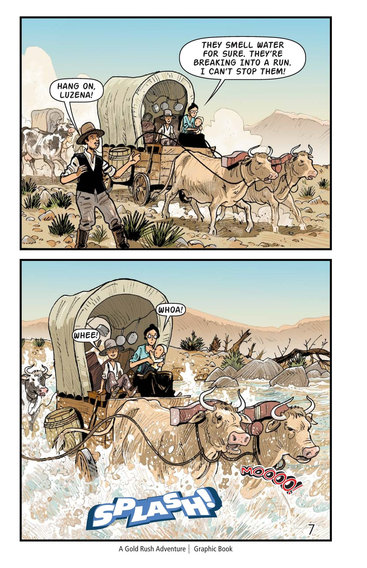 Book Preview For A Gold Rush Adventure Page 8