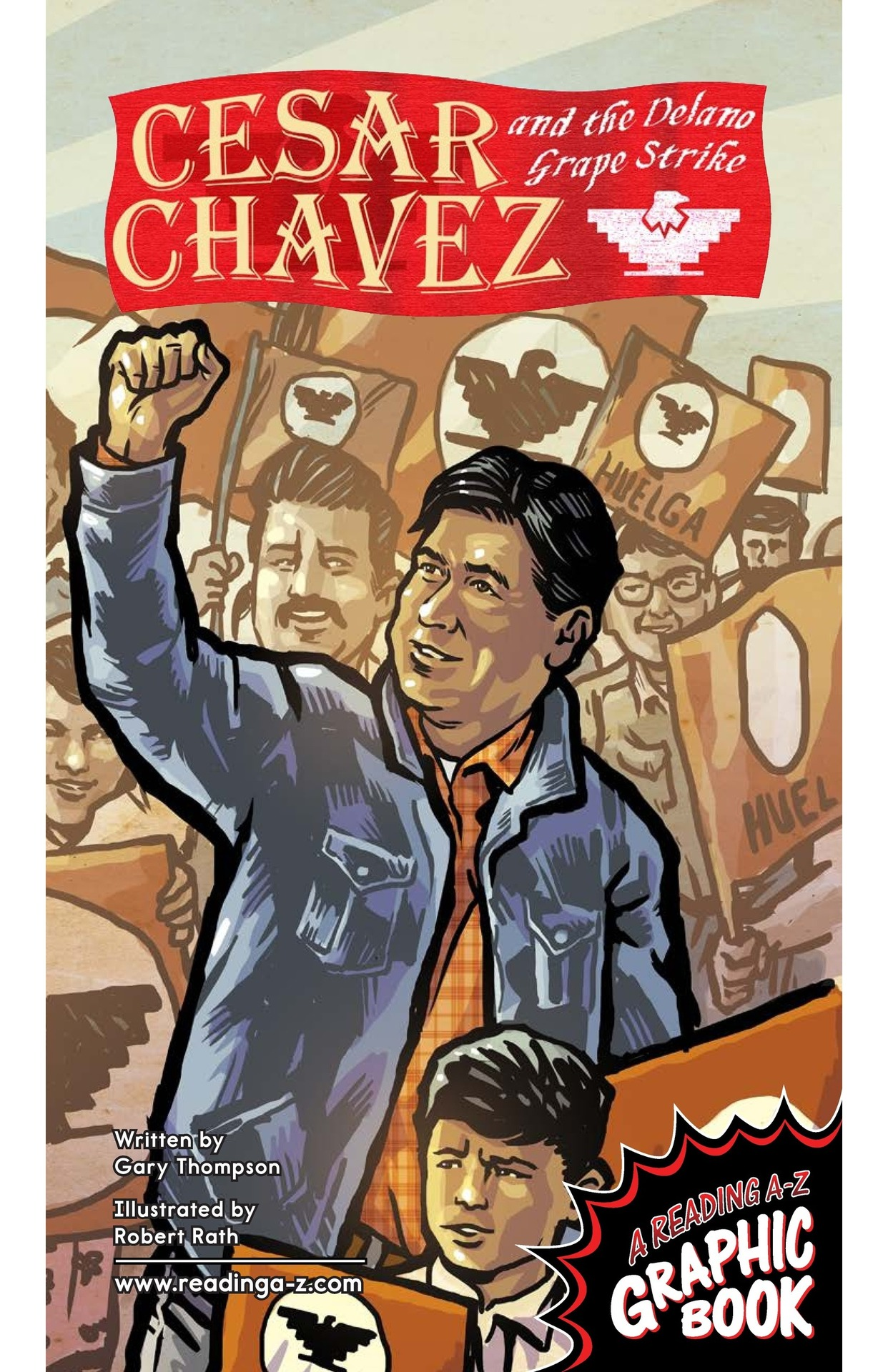 Book Preview For Cesar Chavez and the Delano Grape Strike Page 1