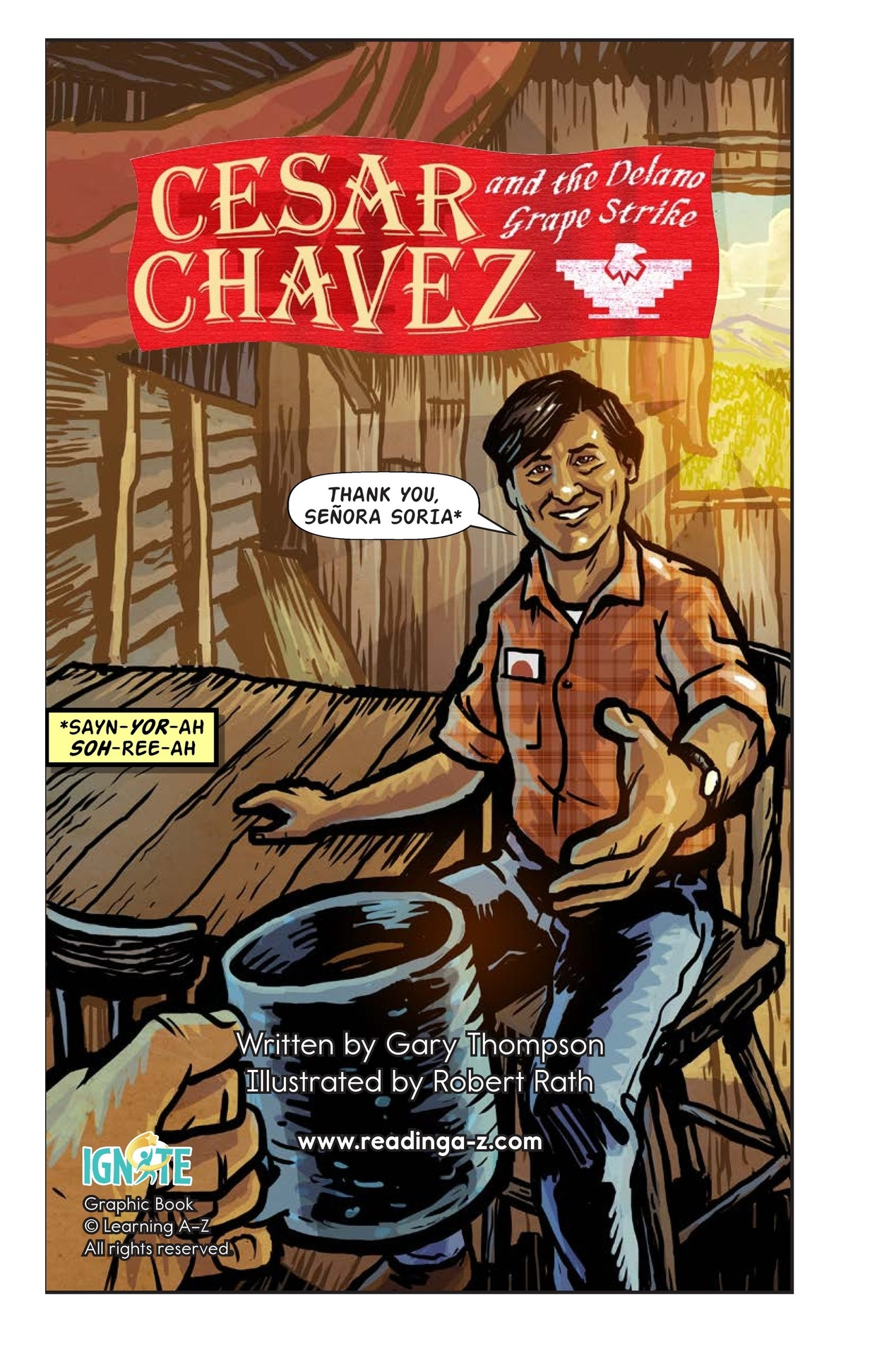 Book Preview For Cesar Chavez and the Delano Grape Strike Page 2