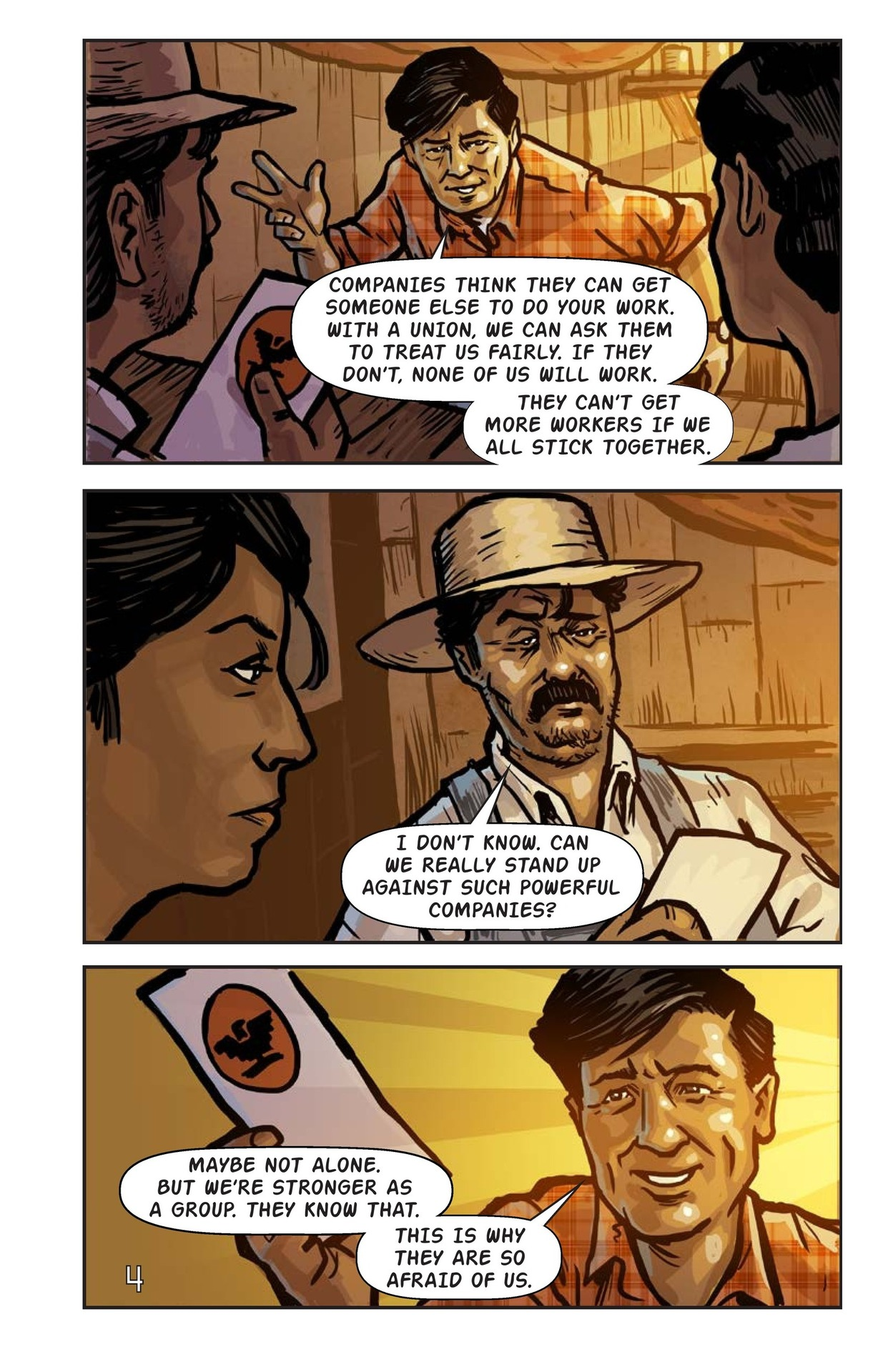 Book Preview For Cesar Chavez and the Delano Grape Strike Page 5