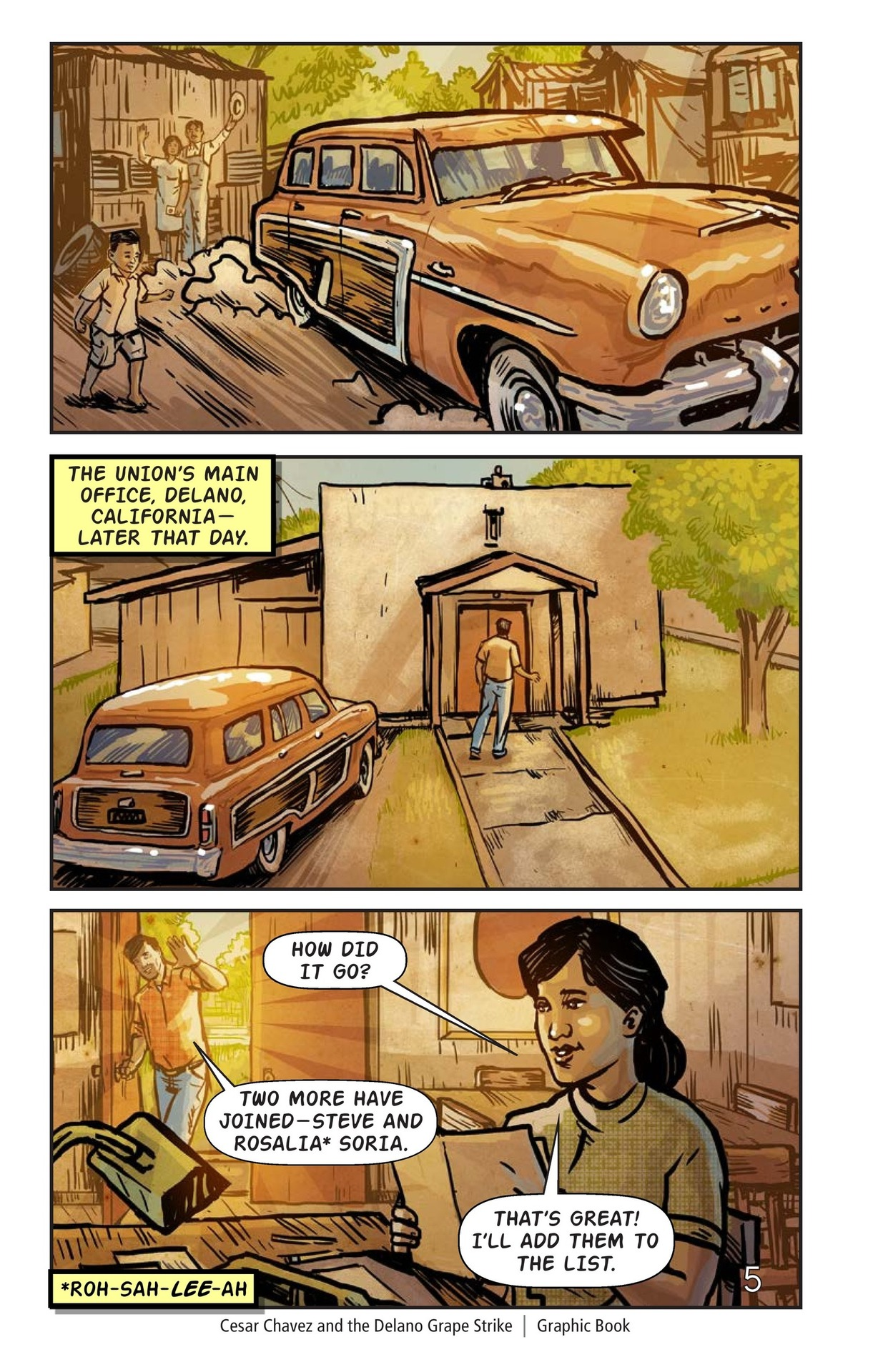 Book Preview For Cesar Chavez and the Delano Grape Strike Page 6