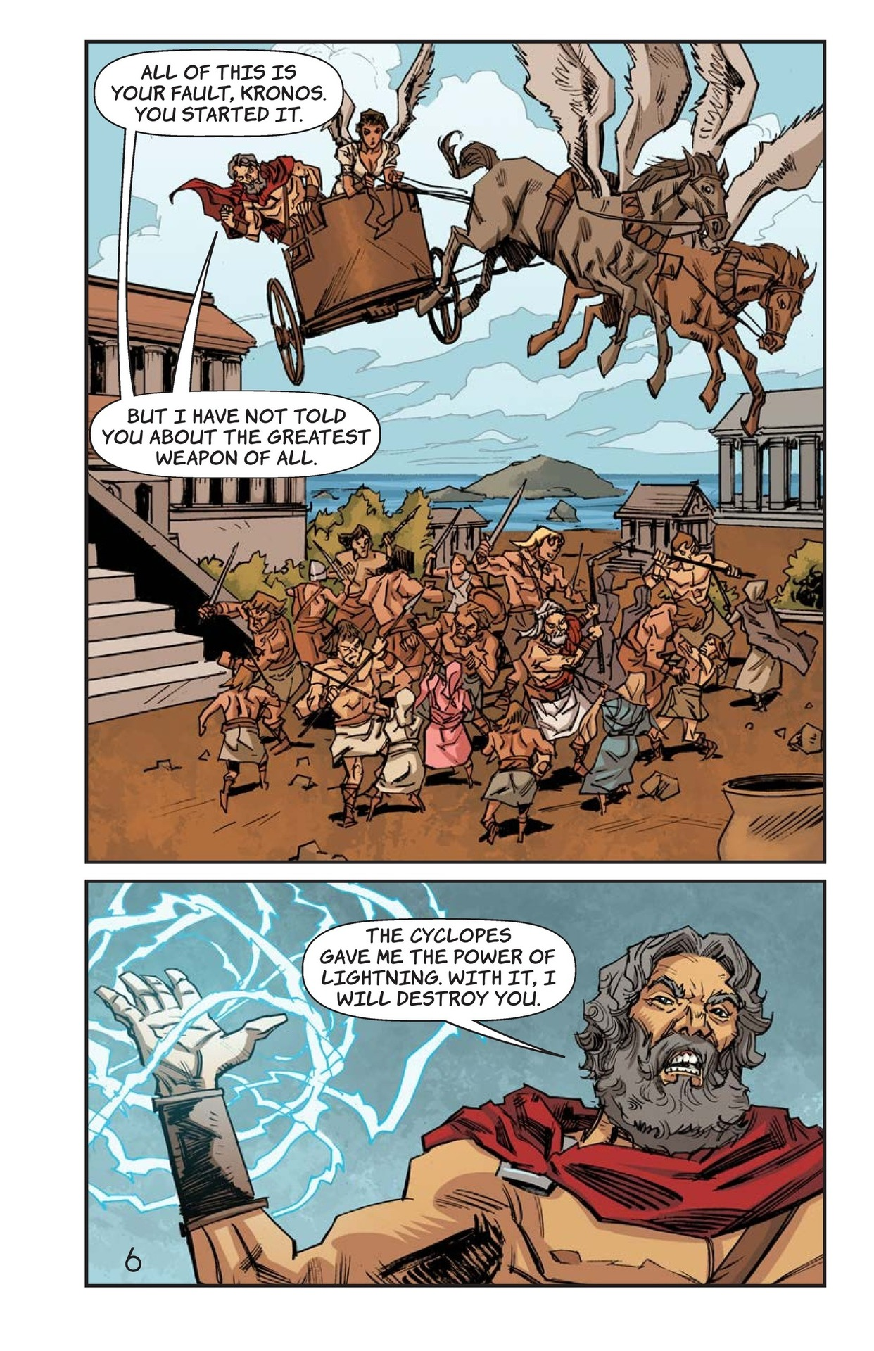 Book Preview For Defeat of the Titans Page 7