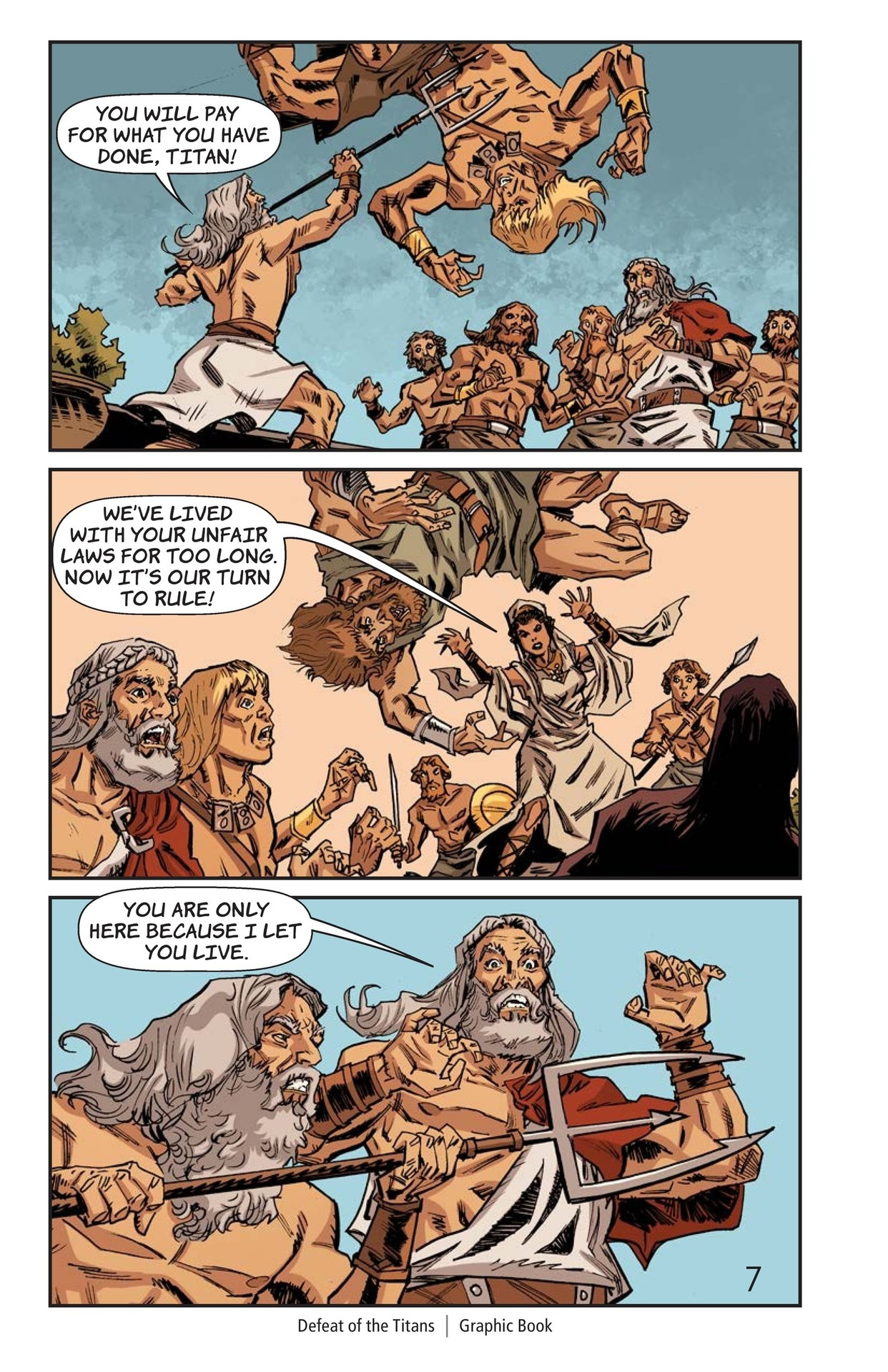 Book Preview For Defeat of the Titans Page 8