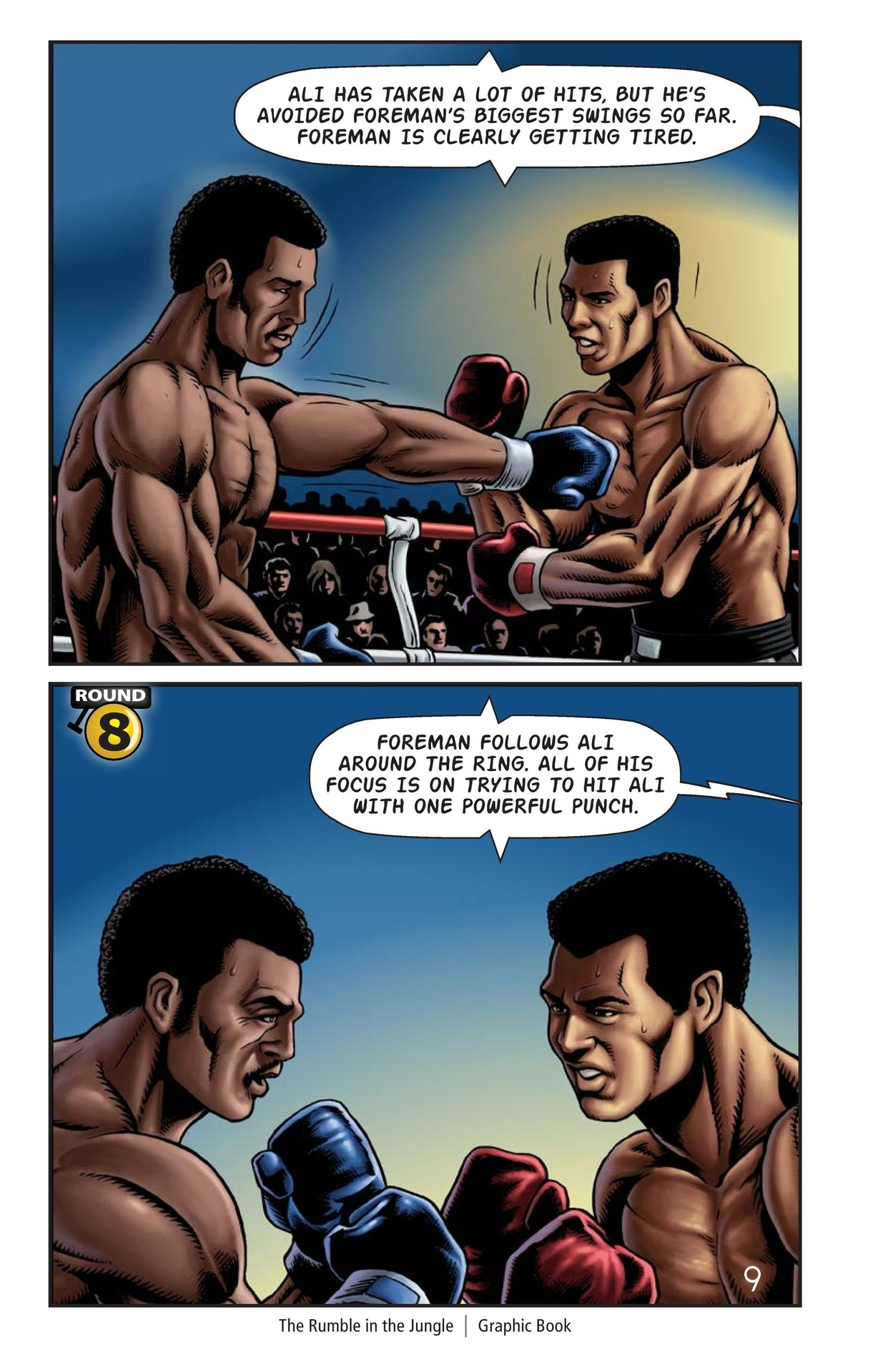 Book Preview For The Rumble in the Jungle Page 10