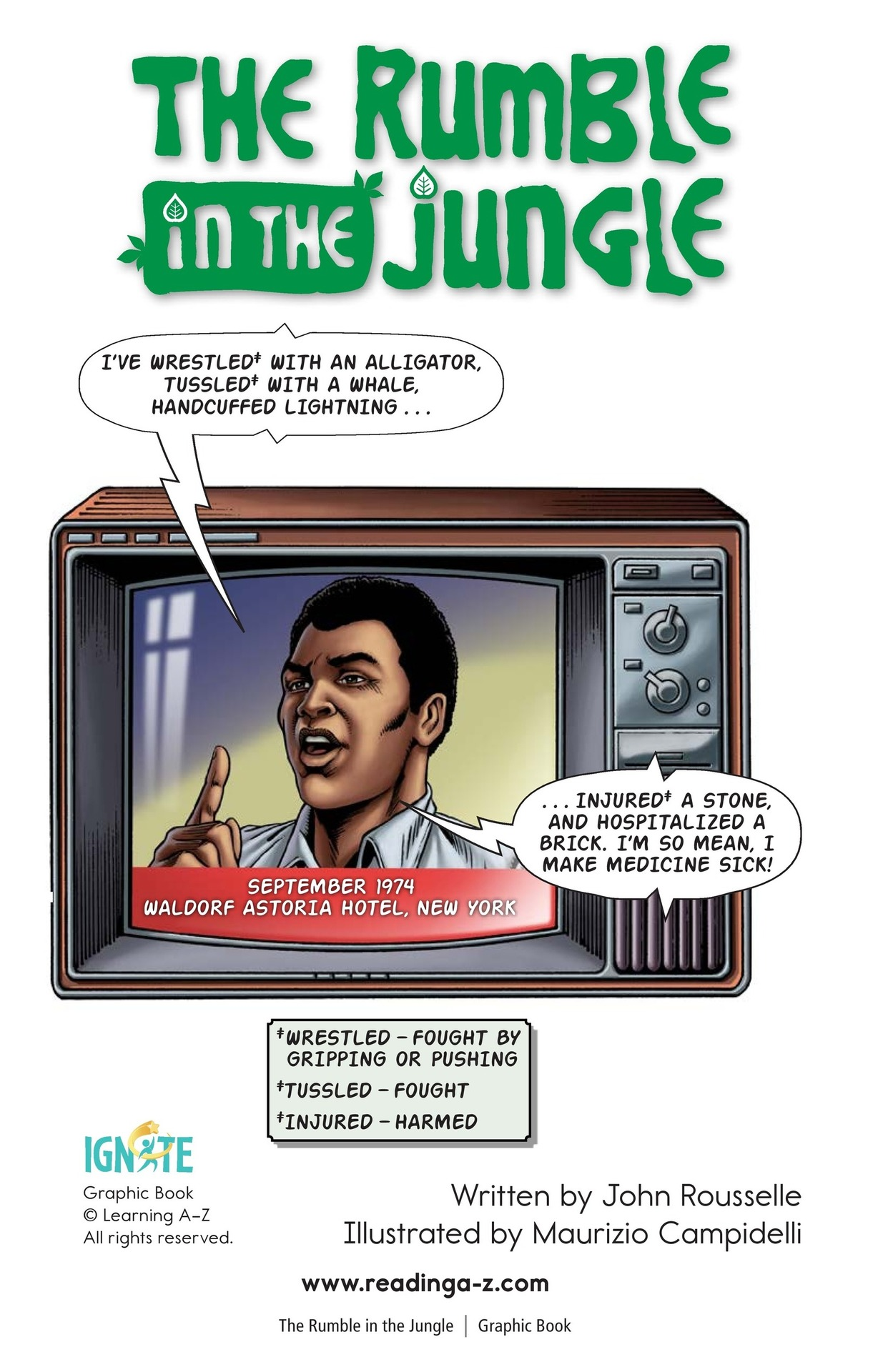 Book Preview For The Rumble in the Jungle Page 2