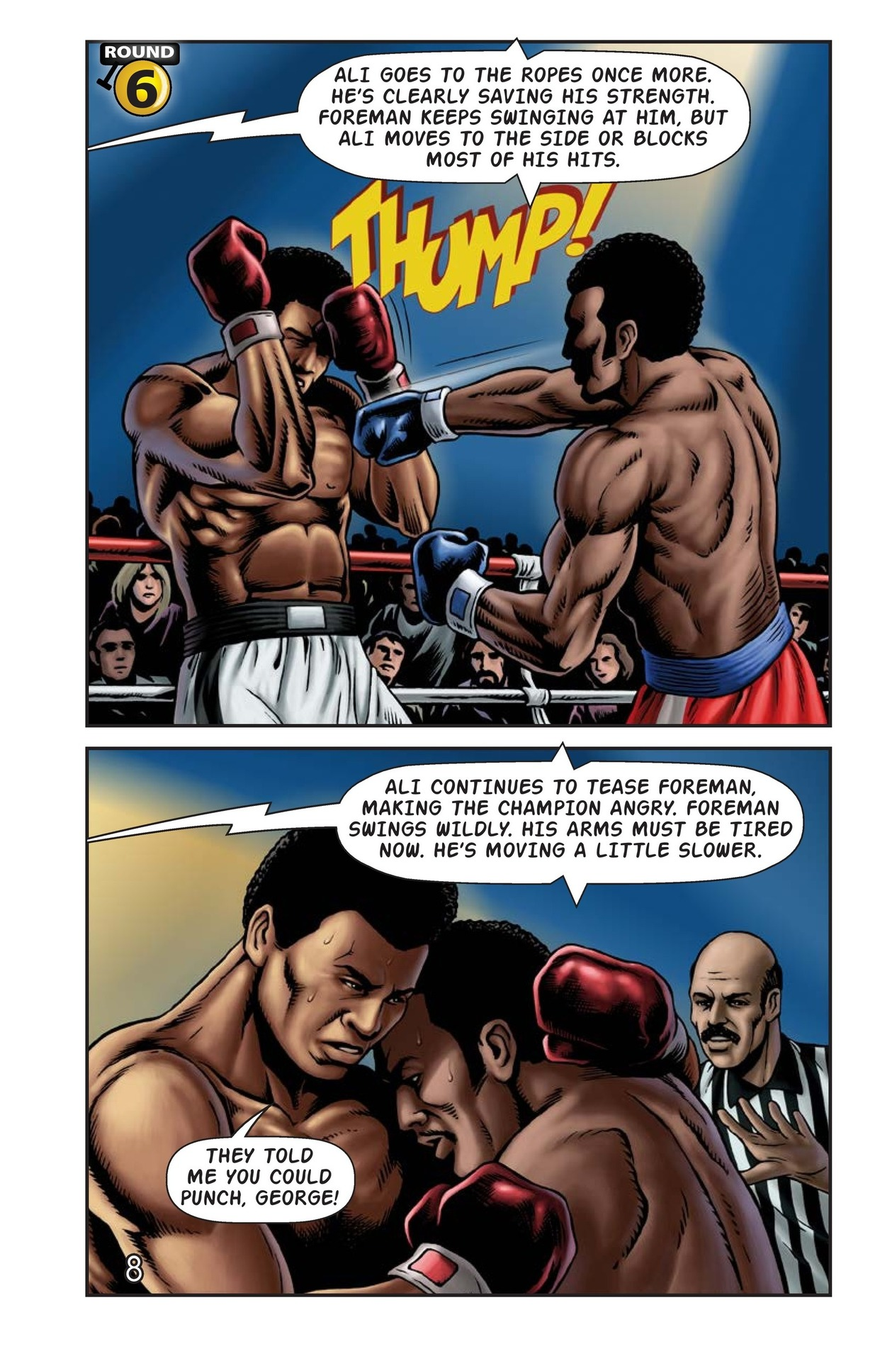 Book Preview For The Rumble in the Jungle Page 9