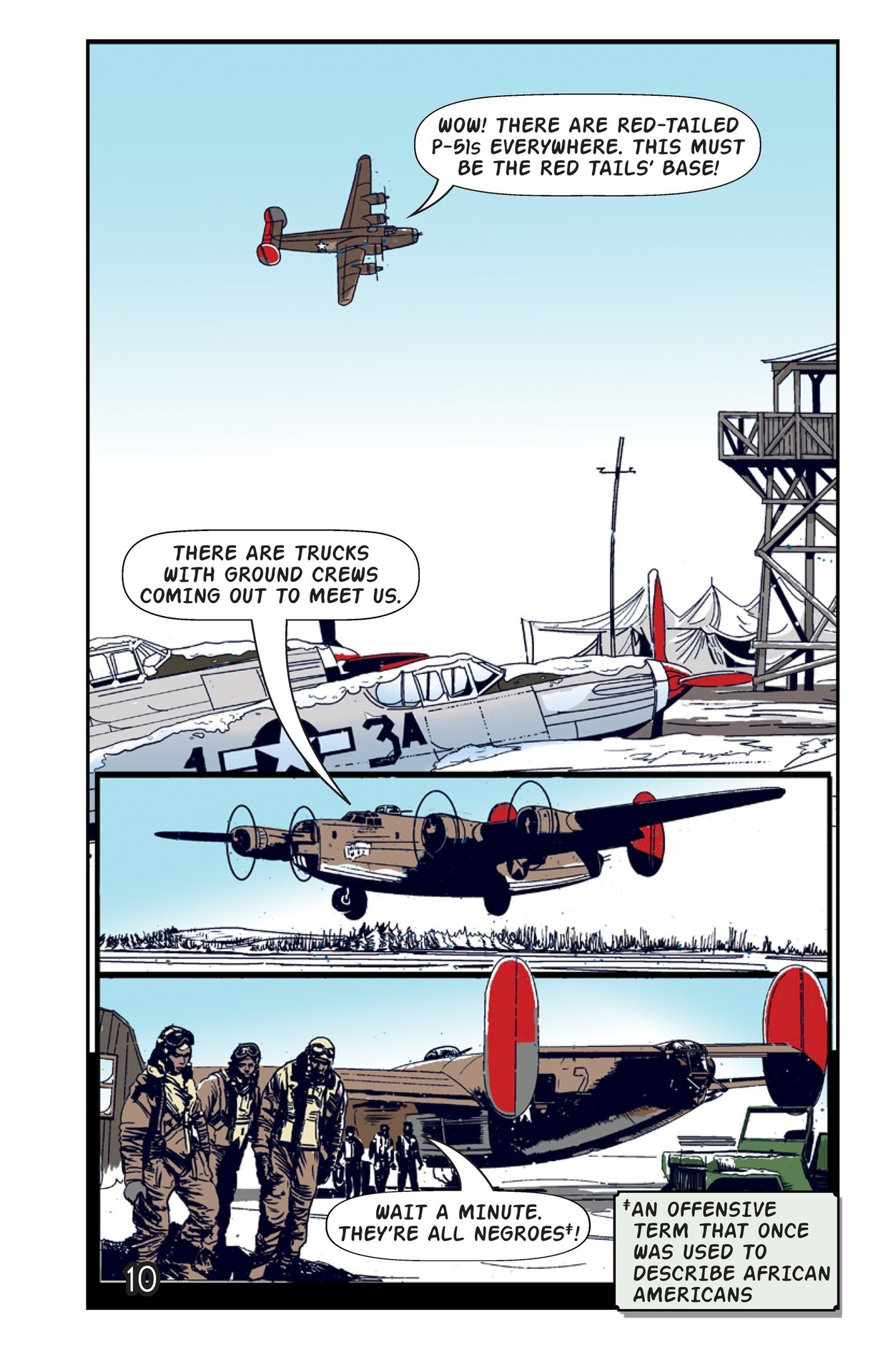 Book Preview For Tuskegee Airmen: The Best-Kept Secret Page 11