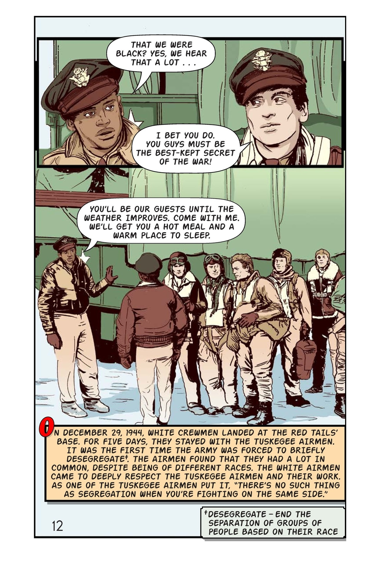 Book Preview For Tuskegee Airmen: The Best-Kept Secret Page 13