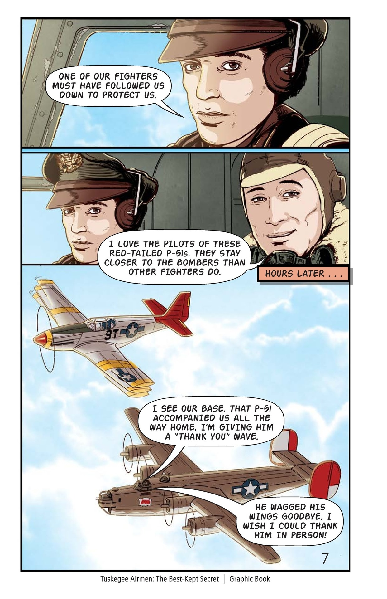 Book Preview For Tuskegee Airmen: The Best-Kept Secret Page 8