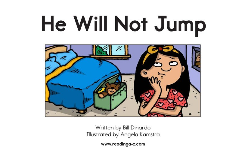 Book Preview For He Will Not Jump Page 2