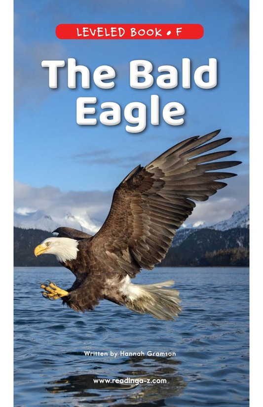 Book Preview For The Bald Eagle Page 0