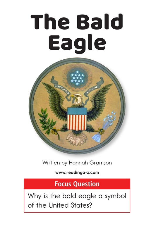 Book Preview For The Bald Eagle Page 1