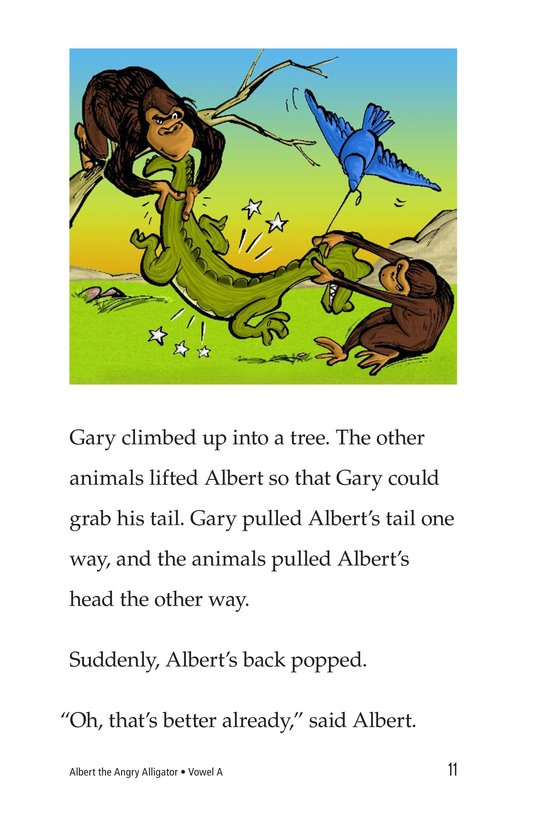 Book Preview For Albert the Angry Alligator Page 11