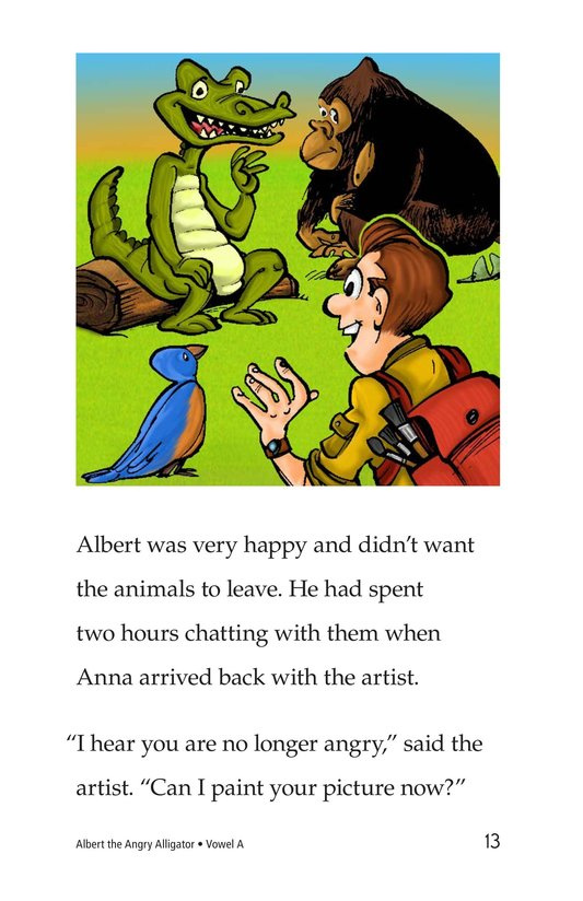 Book Preview For Albert the Angry Alligator Page 13