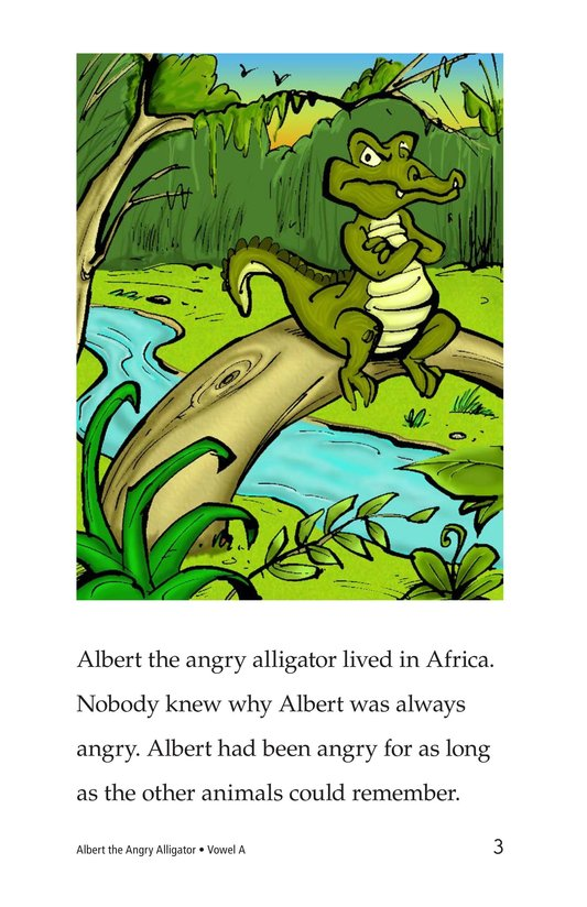 Book Preview For Albert the Angry Alligator Page 3