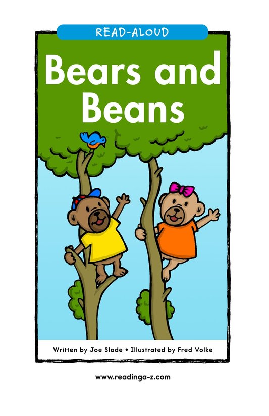 Book Preview For Bears and Beans Page 1