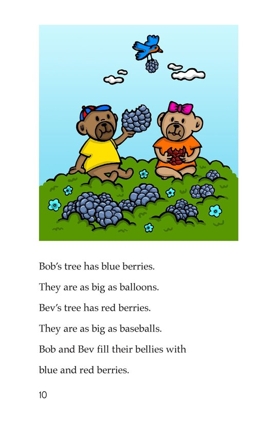 Book Preview For Bears and Beans Page 10