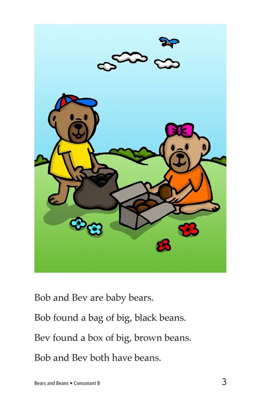 Book Preview For Bears and Beans Page 3