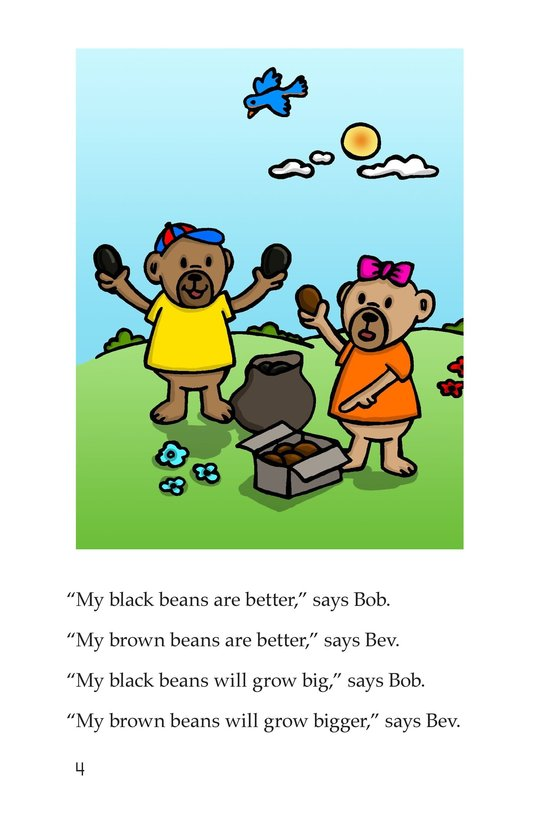 Book Preview For Bears and Beans Page 4