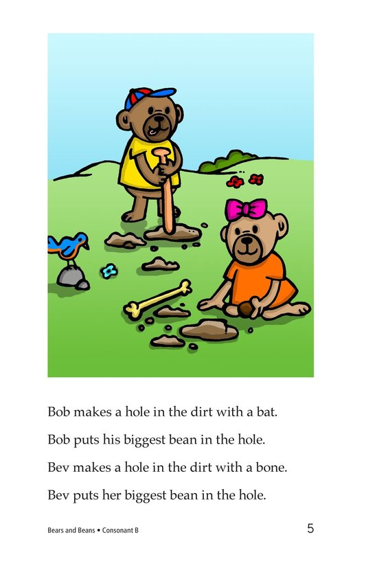 Book Preview For Bears and Beans Page 5