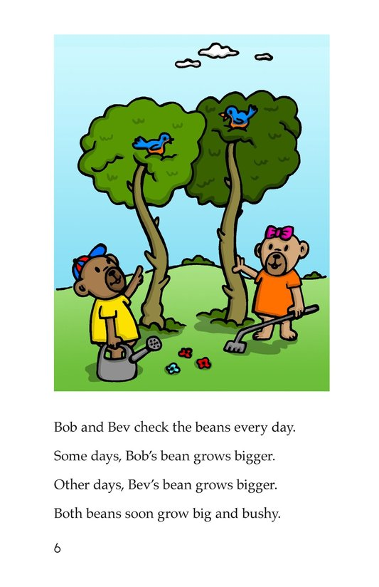 Book Preview For Bears and Beans Page 6