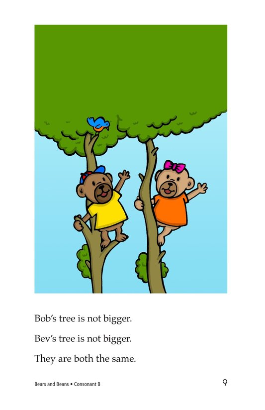 Book Preview For Bears and Beans Page 9