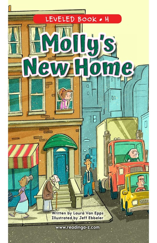 Book Preview For Molly's New Home Page 0