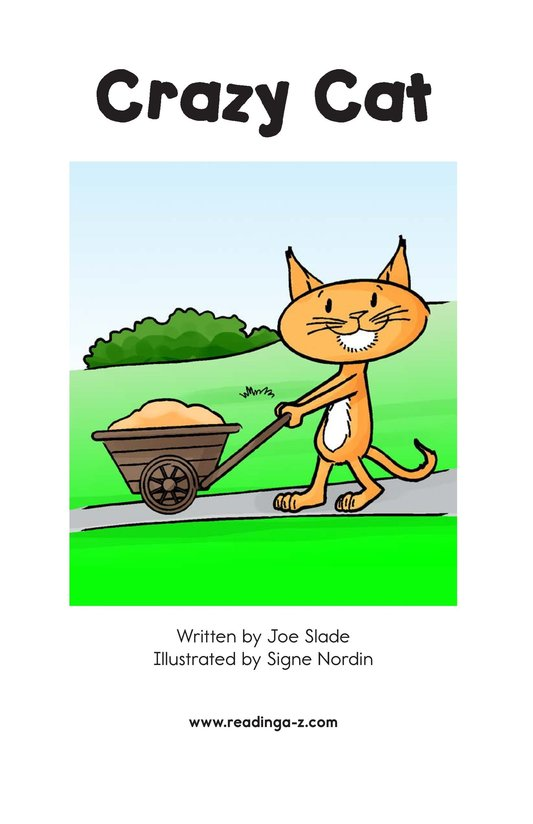 Book Preview For Crazy Cat Page 2