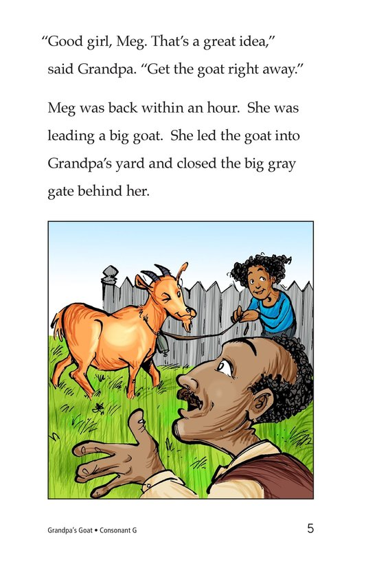 Book Preview For Grandpa's Goat Page 5